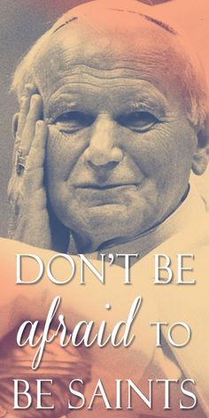 """Novena to John Paul II with Reflections by Pope Benedict #pinterest #stjohnpaul #popebenedict Day 1 – """"""""Follow me."""" The Risen Lord says these words to Peter. They are his last words to this disciple, chosen to shepherd his flock. """"Follow me"""" – this lapidary saying of Christ can be taken as the key to understanding the message which comes to us from the life of our late beloved Pope John Paul II. …"""" Pope Benedict Blessed are you, beloved Pope John Paul............"""