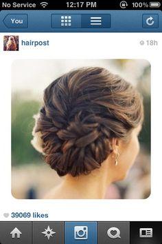 Bridesmaids hair? For Awnies wedding??
