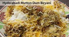 Home made Mutton Biryani Recipe. Prepare with minimum time and ready to serve an awesom biryani dish. Here the delicious kolkata mutton biryani is ready. Rice Recipes, Indian Food Recipes, Cooking Recipes, Ethnic Recipes, Recipies, Pakistani Dishes, Eid Food, Dum Biryani, Biryani Recipe