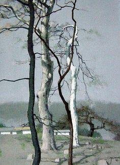 엄윤영-산사… Painting Still Life, Paintings I Love, Korean Art, Beautiful World, Painting & Drawing, Flower Art, Landscape Paintings, Oil On Canvas, Scenery