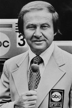 The voice of the Olympic games, Jim McKay