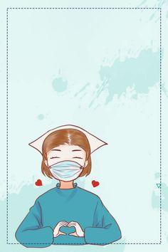 Nursing Wallpaper, Medical Wallpaper, Nurses Week Quotes, Nurse Cartoon, Nurse Art, Medical Background, Cute Nurse, Pet Vet, Dragon Boat Festival