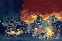 CHILDREN'S ILLUSTRATION- Chuck Groenik