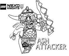 lego nexo knights coloring pages for kids 13