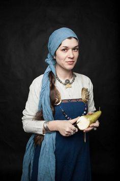 SCA garbs Trine Galt, Daughter of Sigvard and Ulrika Galt. Viking Garb, Viking Reenactment, Viking Dress, Medieval Costume, Medieval Dress, Viking Life, Viking Woman, Historical Costume, Historical Clothing