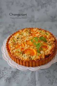 1023オレンジタルト Frosting Recipes, Cake Recipes, Dessert Recipes, Cake Base Recipe, Orange Dessert, Sweet Pie, No Bake Cake, Food Photo, Sweet Recipes