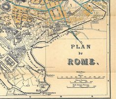 Rome Italy Map