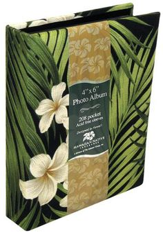 Hawaiian Photo Album Fabric Covered 208 View Plumeria ** Read more  at the image link. (This is an affiliate link and I receive a commission for the sales)