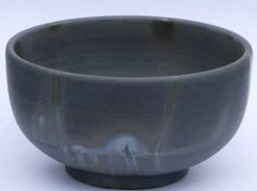 Blue Bizen Bowl by bizen-yaki #Pottery #Japan #Bizen