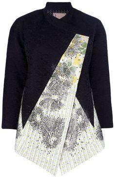 Antonio Marras oversized contrast jacket on shopstyle.com
