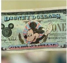Disney dollar!!!!!