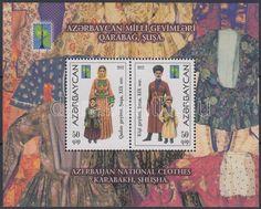 Azerbaijan Stamp Folk Costumes Block MNH 2012 MI 117A WS143589 | eBay