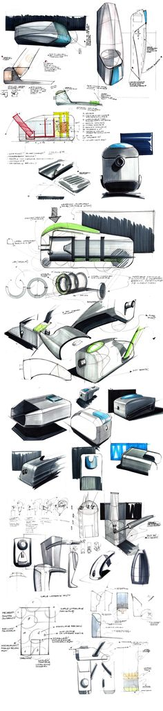 sketches by Michał Markiewicz #id #industrial #design #product #sketch