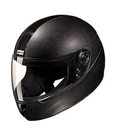 Studds - Full Face Helmet - Chrome Elite (Black) [Large - 58 cms}