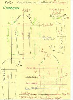 FAQ : comment transformer une Manche tailleur en Manche simple longue.