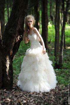 c515c69b3e04 свадебное платье из шелка – купить в интернет-магазине на Ярмарке Мастеров  с доставкой