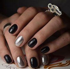 45 black nail art-nails-nailart-nail art-nail art designs-nail designs-oje desenleri (1)