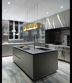 Kitchen Magnum Opus design. Homesandlifestylemedia.com #design #architecture #kitchen