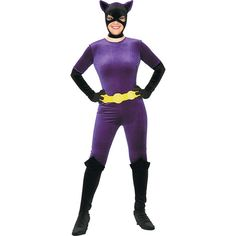 88b5ace40337bb Girl's Purple Catwoman Costume - OrientalTrading.com Masque Catwoman, 3  Group Halloween Costumes,
