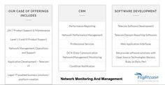 Network monitoring service provider