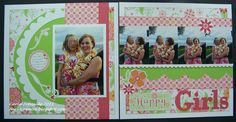by Carla Ironside..... using CTMH Sophia paper pack (retired)