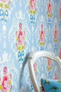 Shabby Chic Blue wallpaper 313001