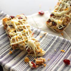 Cranberry Orange Granola Bars Recipe on Yummly
