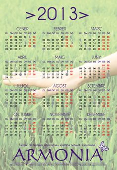 calendari ARMONIA