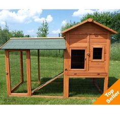 Large Rabbit Hutch Outback Deluxe With Run