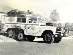 The Sandtrekker, a modified ex-War Department 88 inch series II Land-Rover is believed to be the world's first six wheel drive Land Rover, the modification having been completed in 1966.