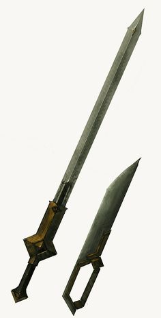 Masterwork Dwarven Blades by IgnusDei.deviantart.com on @deviantART