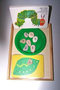 Preschool Bug Unit and Math Lesson Plan (caterpillar art lesson plans)