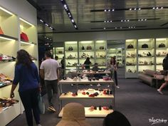 Prada store at The Mall, a designer outlet just outside Florence