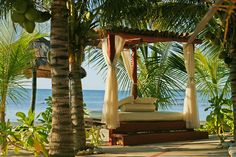 Beach Beds at El Dorado Casitas Royale