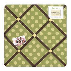 Sweet Jojo Designs Turtle Fabric Memo Board #tinytotties