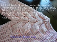 Hızlı ve Kolay Resim Paylaşımı Baby Knitting Patterns, Knitting For Kids, Knitting Designs, Baby Patterns, Knitted Baby Cardigan, Crochet Cardigan Pattern, Diy Crafts Knitting, Cable Knitting, Baby Sweaters