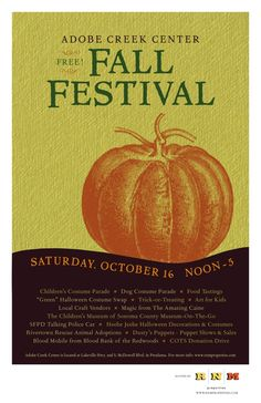 Fall Festival Poster...