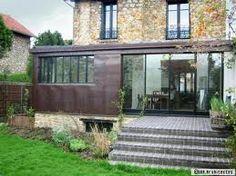 Extension bois sandro munari architecte urbaniste for Extension maison meuliere