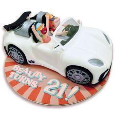 3D Sports Car cake