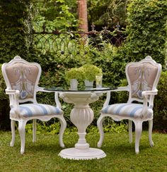Bring unexpected indoor elegance to your garden or patio with the Portofino Seating Collection. | Frontgate: Live Beautifully Outdoors