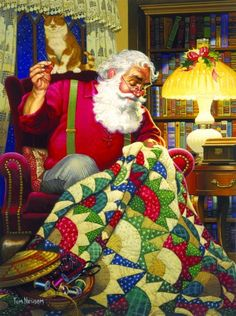Celebrate Hand Quilting: Merry Christmas to all hand quilters of the world!!!