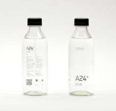 Chris Trivizas — A24+ Silence #Water #packaging #design