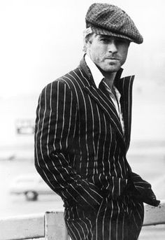 Robert Redford looking more sexy/approachable than contemptuous in those days