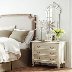 Wisteria - Furniture - Shop by Category - Headboards - Upholstered Headboard Thumbnail 2