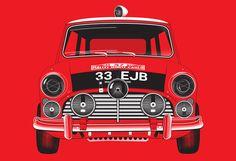 Monte Carlo Mini Poster - Silodrome