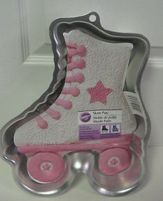 WILTON ROLLER SKATE PAN NEW on eBay! Perfect for your roller skating party!