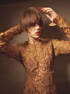 Freja Beha Erichsen by Glen Luchford///Vogue Italia October 2008