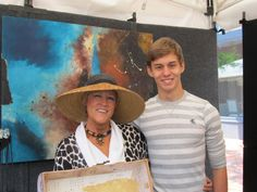 Suzanne Bellows and son Zack