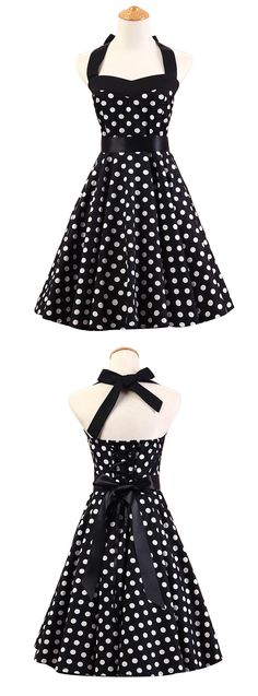 When it comes to dress fashion, everything's coming up Polka Dot Print, discover more sweet prints on OASAP.com.