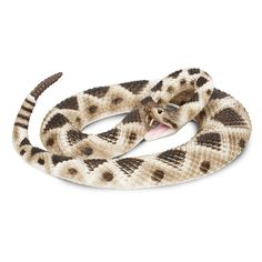 Eastern Diamondback Rattlesnake Incredible Creatures Figure Safari Ltd